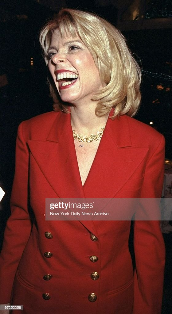 Betsy McCaughey Ross attending opening night party of the pl : News Photo