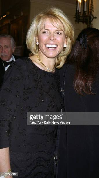 Betsy McCaughey Ross the former lieutenant governor is on hand at the Life in the Theater achievement award dinner at the Players Club in Gramercy...