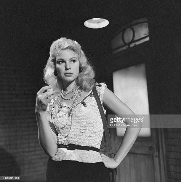 Betsy Palmer in 'Time of Your Life' on PLAYHOUSE 90 Image dated September 5 1958