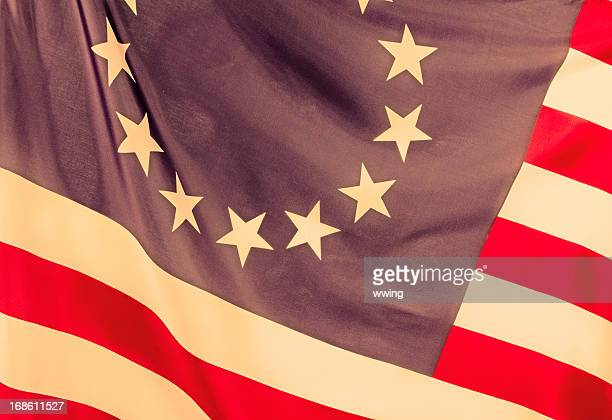 betsy ross american flag - betsy ross flag stock pictures, royalty-free photos & images