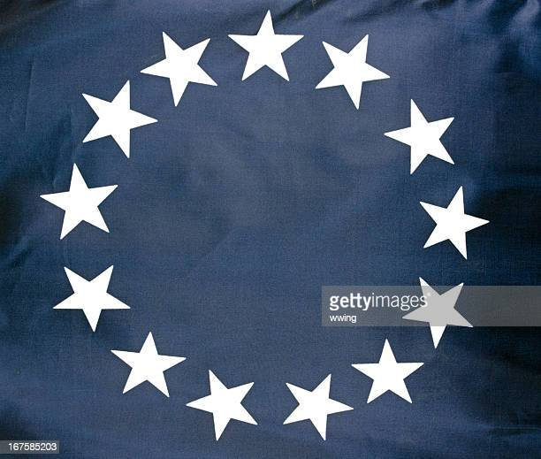 Betsy Ross Flag Close-up