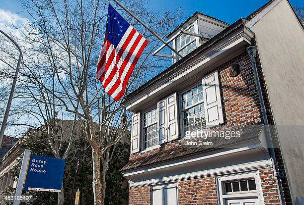 Betsy Ross House maker of the first American Flag