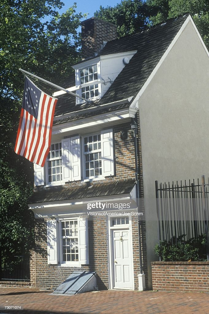 'Betsy Ross House, Philadelphia, Pennsylvania' : Stock Photo