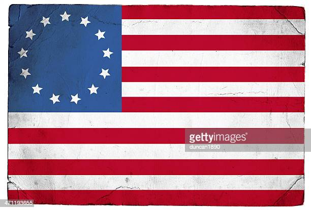 betsy ross us flag - colonial style stock pictures, royalty-free photos & images
