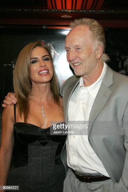 Betsy Russell and Tobin Bell at the SAW IV Los Angeles Cast and Crew Screening at Mann's Chinese 6 on October 23 2007 in Hollywood California