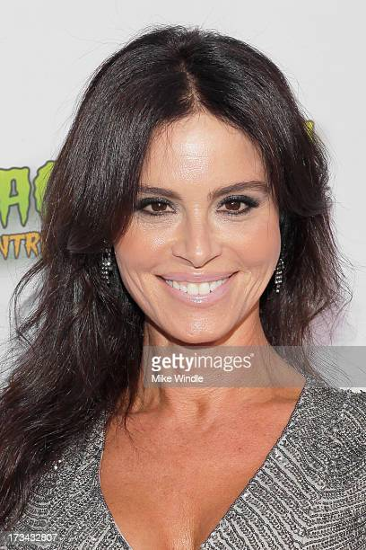 Betsy Russell arrives at the 2013 Viscera Film Festival Red Carpet Event at American Cinematheque's Egyptian Theatre on July 13 2013 in Hollywood...