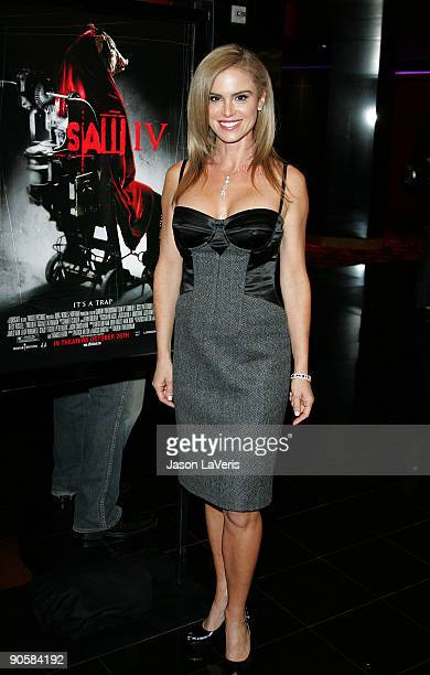 Betsy Russell at the SAW IV Los Angeles Cast and Crew Screening at Mann's Chinese 6 on October 23 2007 in Hollywood California