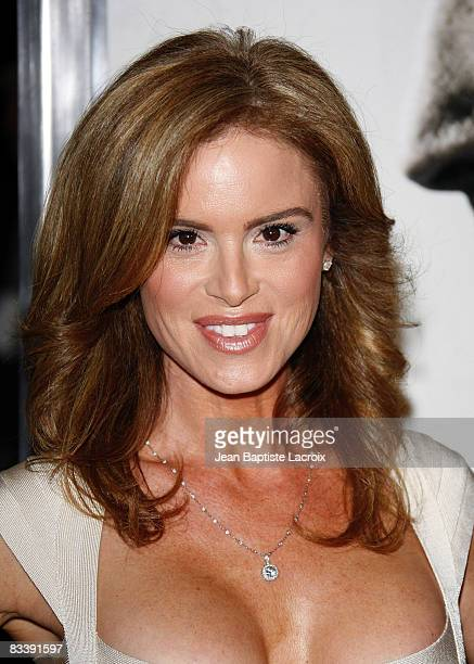 Betsy Russell attends the premiere of Saw V at Mann's Chinese Six on October 21 2008 in Hollywood California