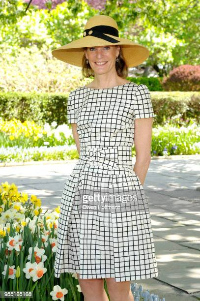 Betsy Smith attends 36th Annual Frederick Law Olmsted Awards Luncheon Central Park Conservancy at The Conservatory Garden in Central Park on May 2...