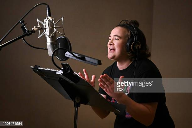 Betsy Sodaro records the voice of Bex for the new animated family comedy DUNCANVILLE, premiering Sunday, Feb. 16 on FOX.