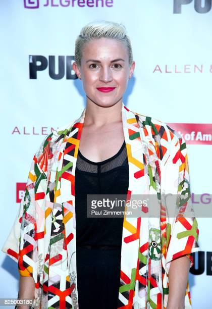 Betsy Struxness attends 'A Midsummer Night's Dream' Opening Night at Delacorte Theater on July 31 2017 in New York City