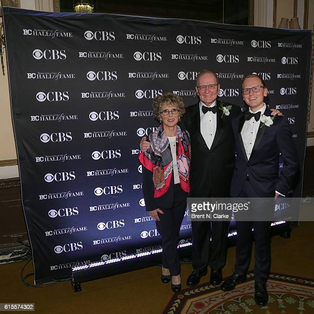 Betsy Sucherman Chairman Sucherman Group/event honoree Stuart Sucherman and David Sucherman attend the Broadcasting Cable Hall of Fame 26th...
