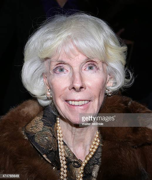 Betsy Von Furstenberg attending attends the 2014 Theater For The New City Benefit at The National Arts Club on February 24 2014 in New York City