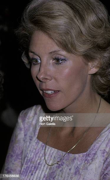 Betsy Von Furstenberg attends Voice Of The Turtles Press Conference on November 23 1981 at La Camilla Restaurant in New York City