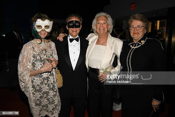 Betsy von Furstenberg David Lewis Iris Love and Anne Verducci attend CHRISTIE'S BLACK and WHITE BALL To Celebrate The Plaza Hotel Auction at...