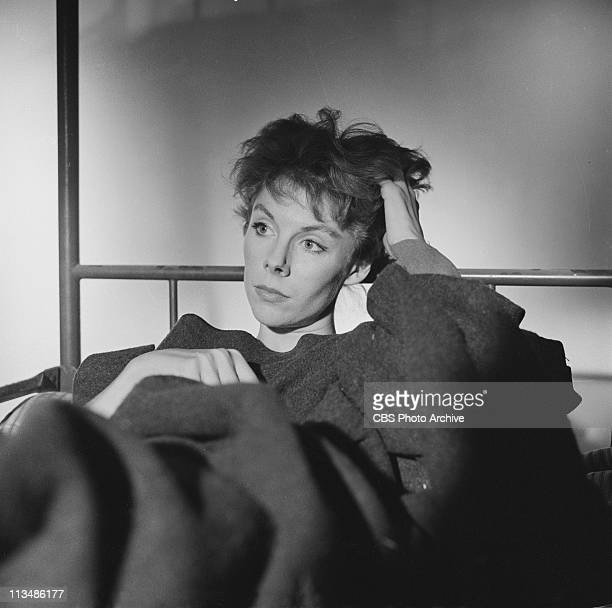 Betsy Von Furstenberg in A Word From A SealedOff Box on PLAYHOUSE 90 Image dated October 16 1958