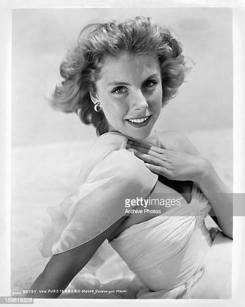 Betsy von Furstenberg in publicity portrait circa 1955