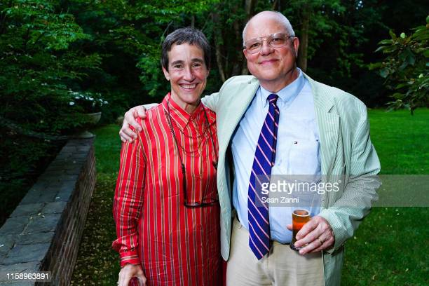 Betsy White and Daniel W White attend A Country House Gathering To Benefit Preservation Long Island on June 28 2019 in Locust Valley New York