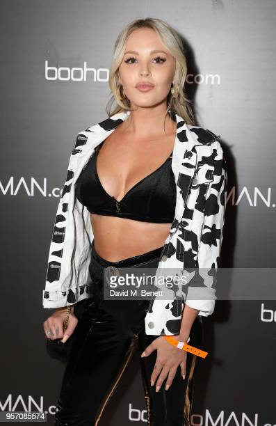BetsyBlue English attends boohooMAN by Dele Alli Launch at Radio Rooftop on May 10 2018 in London England