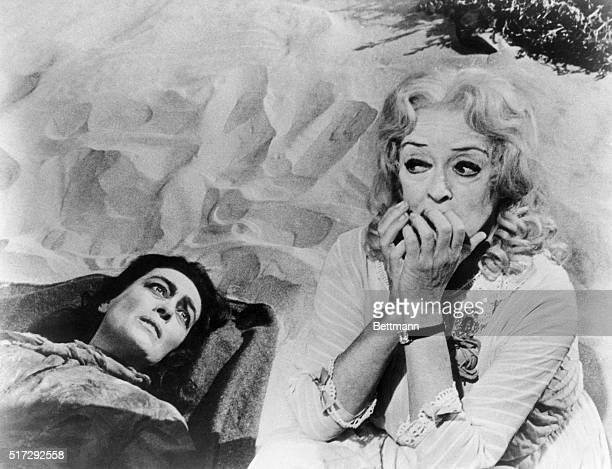 Bette Davis and Joan Crawford in scenes from 'Whatever Happened to Baby Jane' Filed Jan 1962