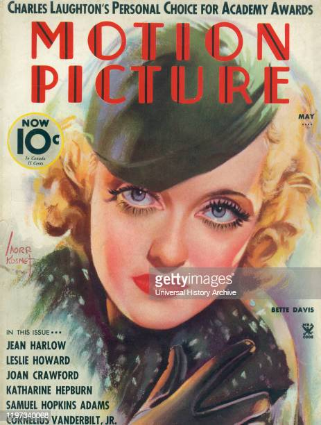 Bette Davis Cover of Motion Picture Magazine May 1935