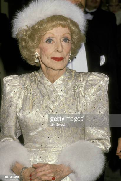 Bette Davis during 6th Annual American Cinema Awards at Beverly Hilton Hotel in Beverly Hills California United States
