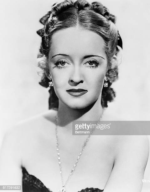 """Bette Davis, movie star, nominated by Toni Frissell, fashion photographer, """"because she had the courage to look beautiful half of the time and ugly..."""
