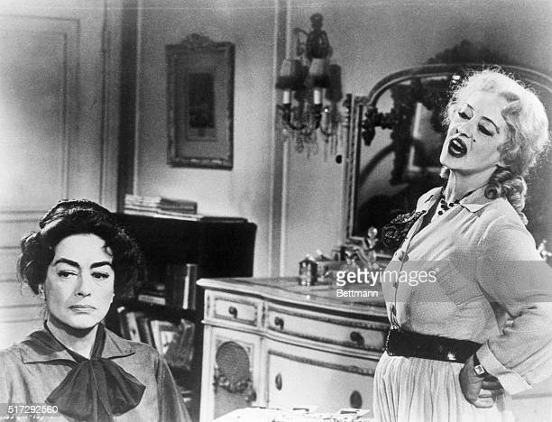 Bette Davis plays a bitter former child star who must care for her disabled more famous sister played by Joan Crawford 1962