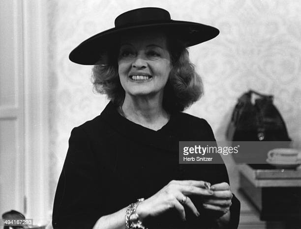 Bette Davis poses for a portrait in 1961 in New York City NY