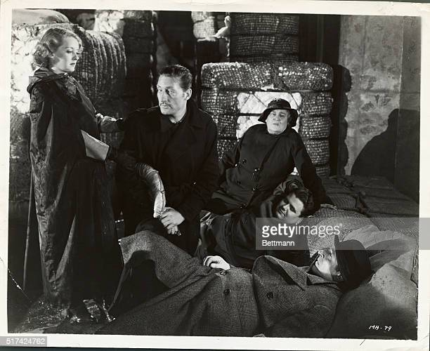 Bette Davis Warren William Allison Skipworth Arthur Treacher and player are shown in scene from AAP's Warner Brother's drama Satan Met A Lady