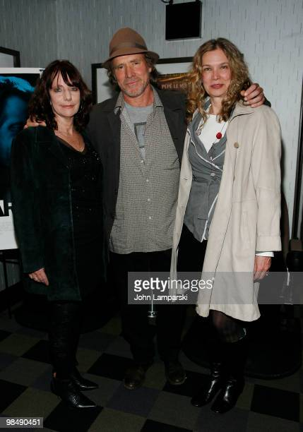 Bette Gordon Will Patton and Sandy Mc Leod attend a special screening of 'Variety' at the IFC Center on April 15 2010 in New York City