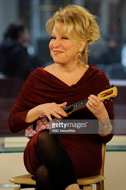 TODAY Bette Midler Air Date Pictured Bette Midler Bette Midler visits Today to speak with Meredith Vieira about her new cd Jackpot The Best of Bette