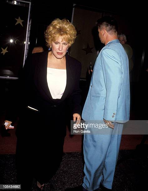 Bette Midler and Husband Martin von Haselberg during Commitment To Life IV Los Angeles AIDS Project Benefit September 7 1990 at The Wiltern Theater...