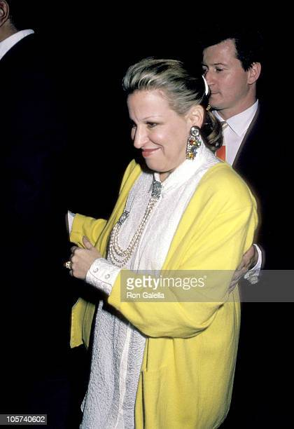 Bette Midler and husband Martin von Haselberg during Down and Out in Beverly Hills Los Angeles Premiere at Mann's Bruin Theater in Westwood...