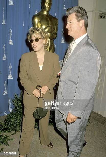 Bette Midler and Husband Martin von Haselberg during The Annual Academy Award Nominees Luncheon at Beverly Hilton Hotel in Beverly Hills CA United...