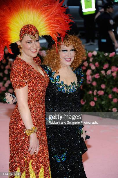 Bette Midler and Sophie Von Haselberg attends The 2019 Met Gala Celebrating Camp Notes On Fashion Arrivalsat The Metropolitan Museum of Art on May 6...