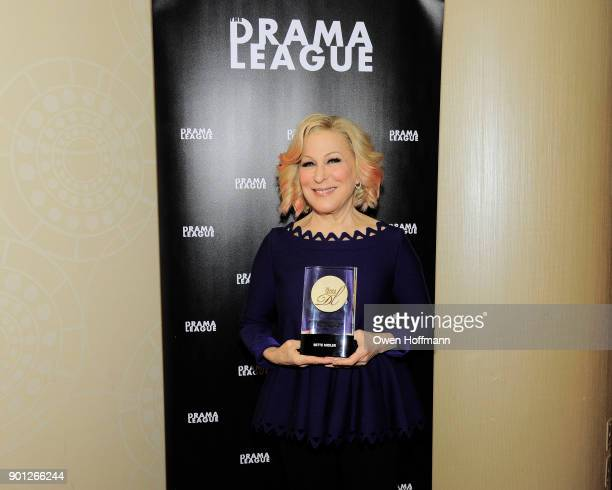 Bette Midler attends 83rd Annual Drama League Awards at Marriott Marquis on May 19 2017 in New York City