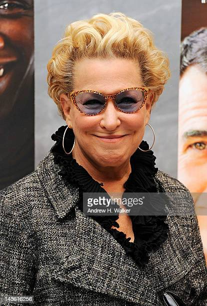 Bette Midler attends a screening of The Intouchables at The Paley Center for Media on April 30 2012 in New York City