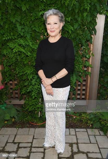 Bette Midler attends as Michael Kors and the New York Restoration Project Celebrate The Opening Of The Essex Street Community Garden on June 21 2018...