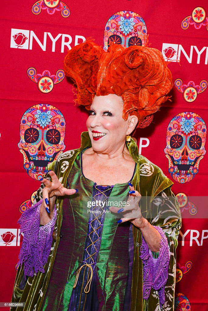 Bette Midler attends Bette Midler's Annual Hulaween Bash celebrating the New York Restoration Project at the Waldorf=Astoria on October 28, 2016 in New York City.