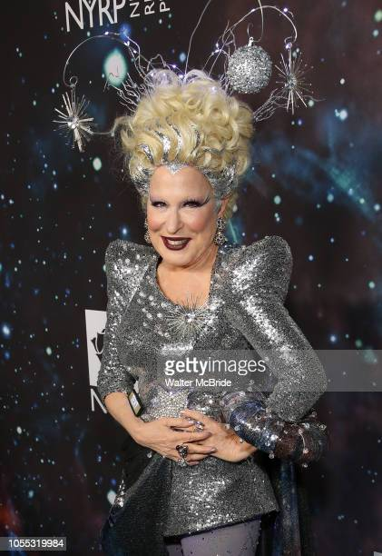 Bette Midler attends Bette Midler's New York Restoration Project hosts the 22nd Annual Hulaween Event Hulaween in the Cosmos at St John the Divine on...