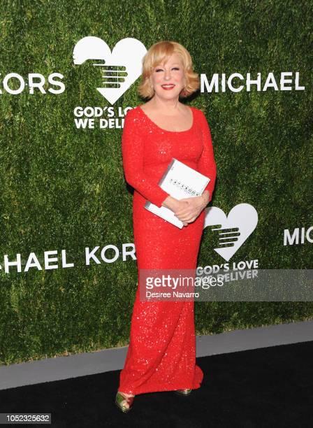 Bette Midler attends God's Love We Deliver 12th Annual Golden Heart Awards at Spring Studios on October 16 2018 in New York City