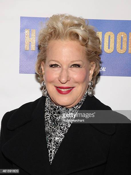 Bette Midler attends 'Honeymoon In Vegas' Broadway Opening Night at Nederlander Theatre on January 15 2015 in New York City