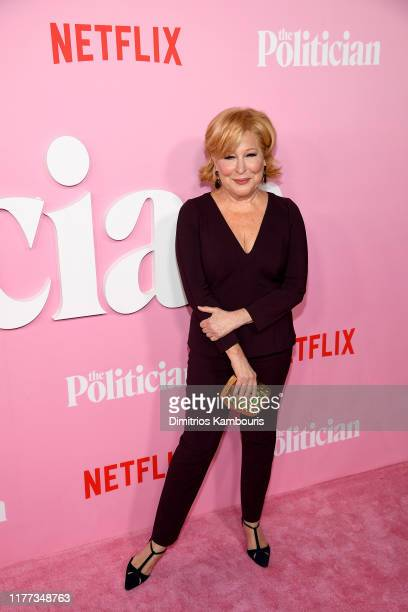 Bette Midler attends Netflix's The Politician Season One Premiere at DGA Theater on September 26 2019 in New York City