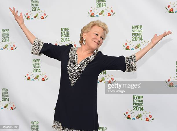 Bette Midler attends the 13th annual New York Restoration Project Annual Spring Picnic at General Grant National Memorial on May 29 2014 in New York...