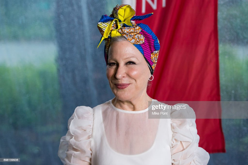 Bette Midler attends the 2017 New York Restoration Project Spring Picnic at Sherman Creek Park on June 19, 2017 in New York City.