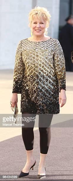 Bette Midler attends the Metropolitan Opera gala premiere of 'Armida' at the Metropolitan Opera House on April 12 2010 in New York New York