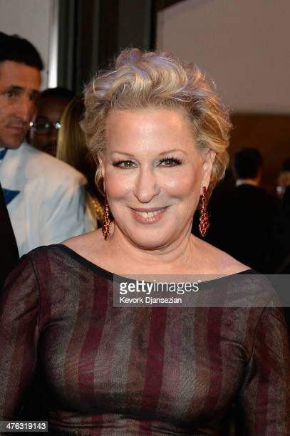 Bette Midler attends the Oscars Governors Ball at Hollywood Highland Center on March 2 2014 in Hollywood California