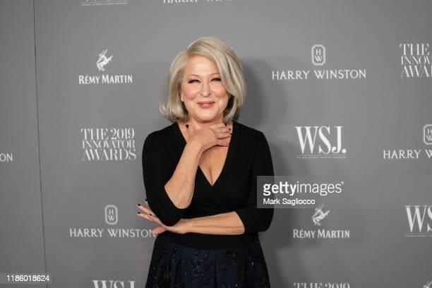 Bette Midler attends the WSJ Mag 2019 Innovator Awards at The Museum of Modern Art on November 06 2019 in New York City