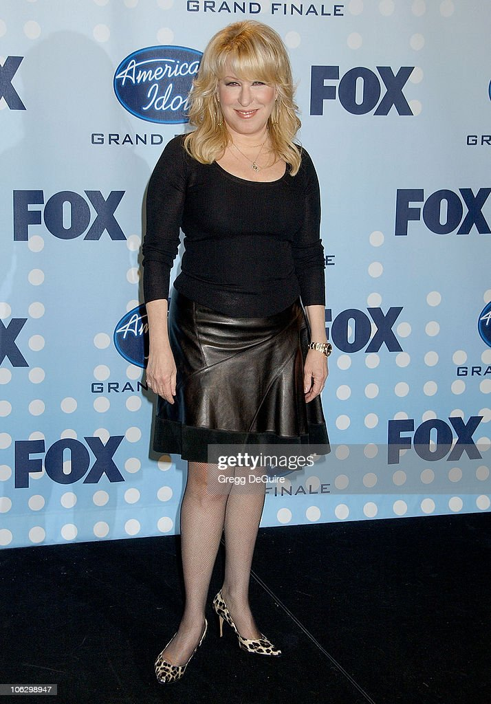 Bette Midler during 'American Idol' Season 6 Finale - Press Room at Kodak Theatre in Hollywood, California, United States.